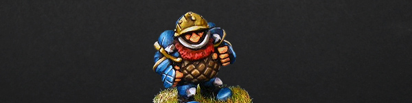 Blood Bowl Dwarf