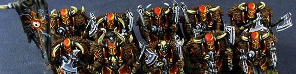 Chaos Warriors of Khorne