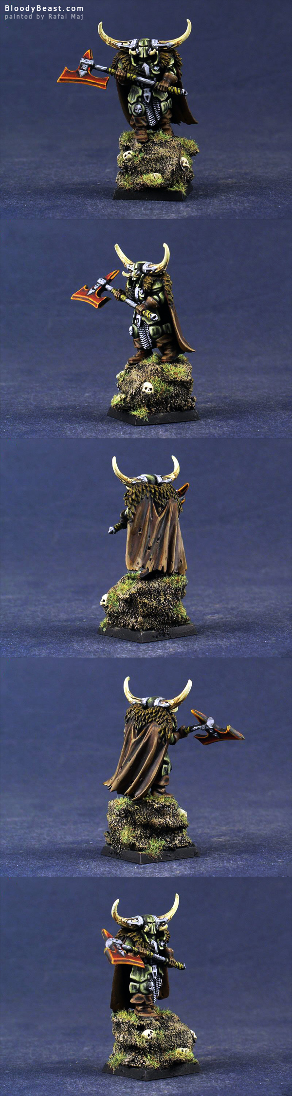 Chaos Lord of Nurgle painted by Rafal Maj (BloodyBeast.com)