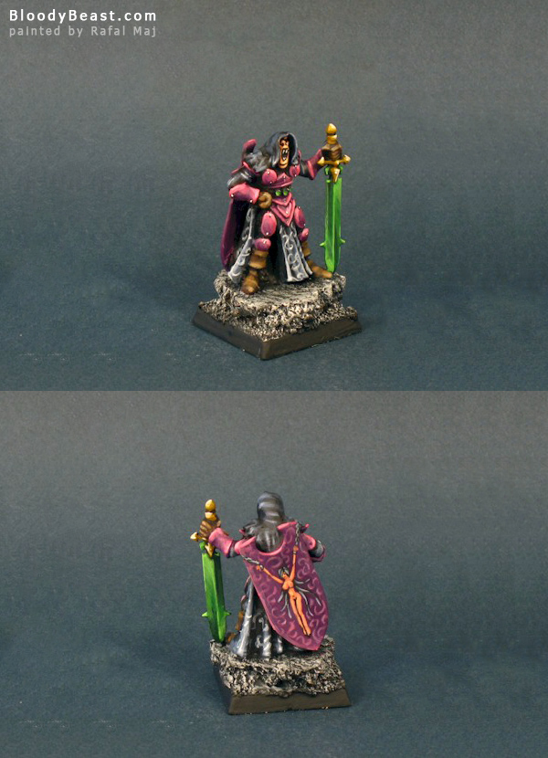 Chaos Champion of Slaanesh painted by Rafal Maj (BloodyBeast.com)