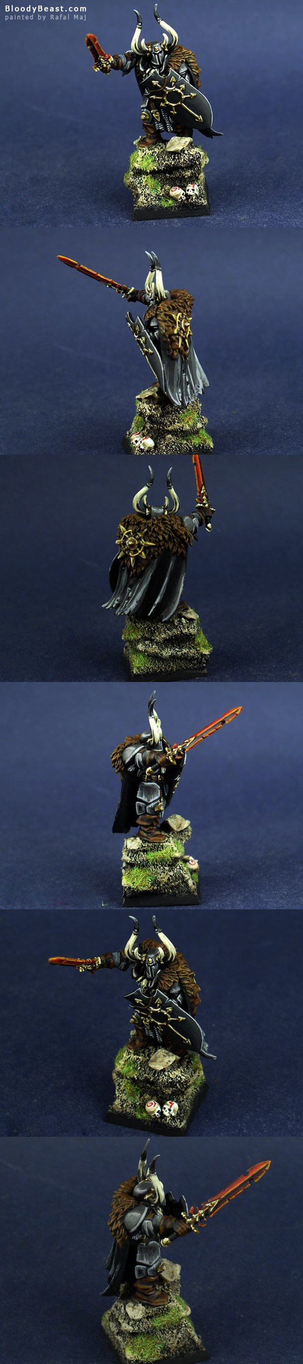 Chaos Lord of Undivided painted by Rafal Maj (BloodyBeast.com)