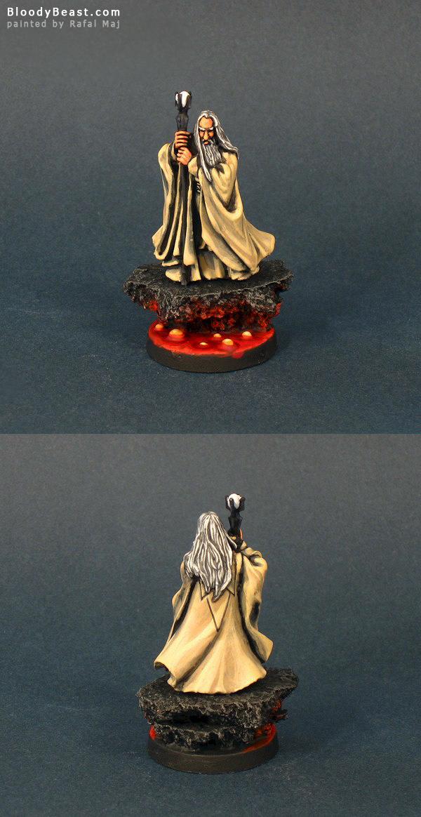 LotR Saruman painted by Rafal Maj (BloodyBeast.com)