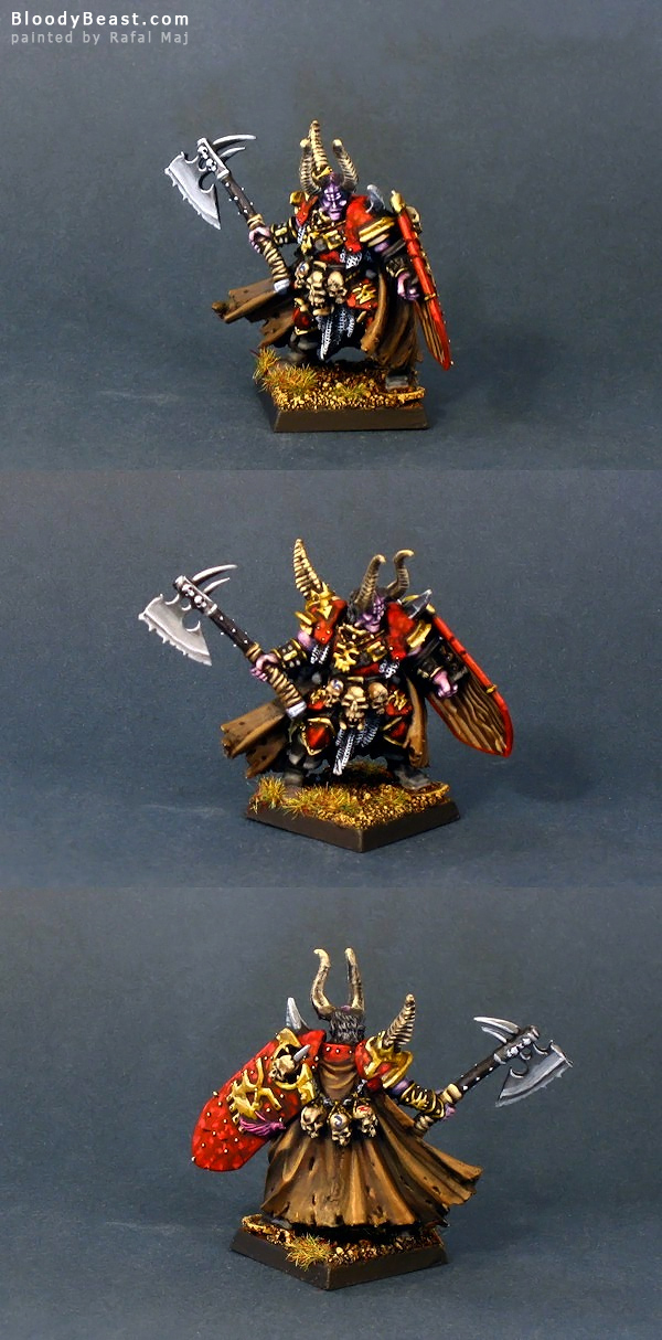 Lord of Khorne painted by Rafal Maj (BloodyBeast.com)