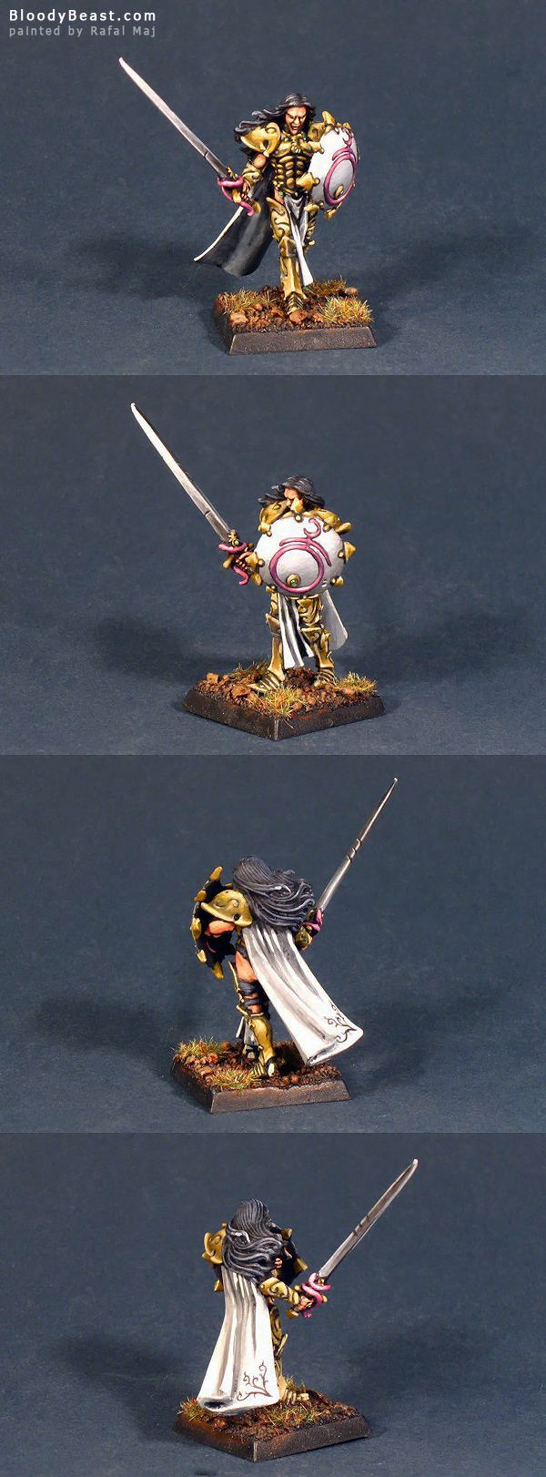 Sigvald the Magnificent painted by Rafal Maj (BloodyBeast.com)