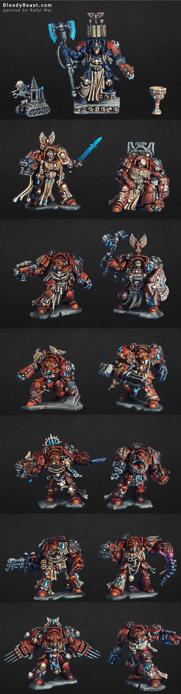 Space Hulk 3rd Edition Painted painted by Rafal Maj (BloodyBeast.com)