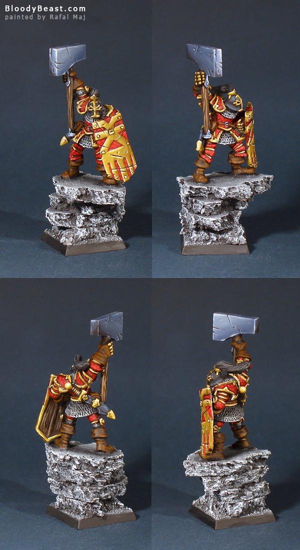 Khorne Chaos Lord painted by Rafal Maj (BloodyBeast.com)