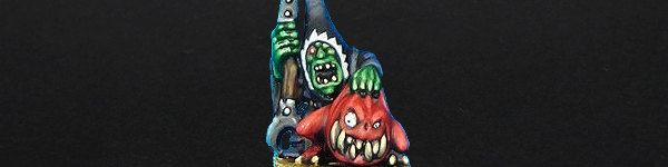 Night Goblin BigBoss with Squig