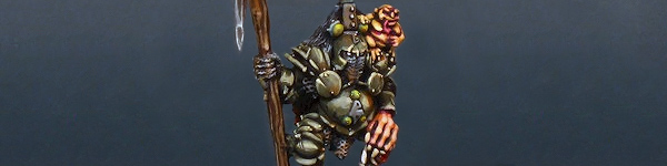 Nurgle Chaos Lord with Nurgling