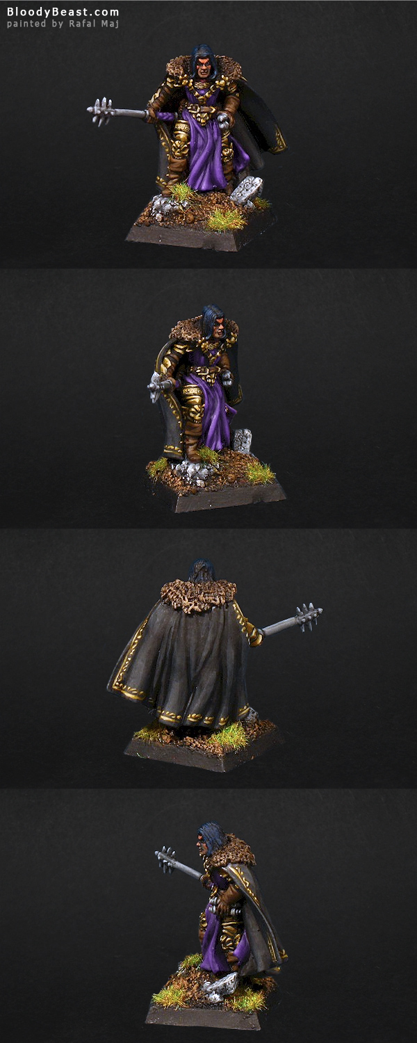 Vlad, Evil Cleric painted by Rafal Maj (BloodyBeast.com)
