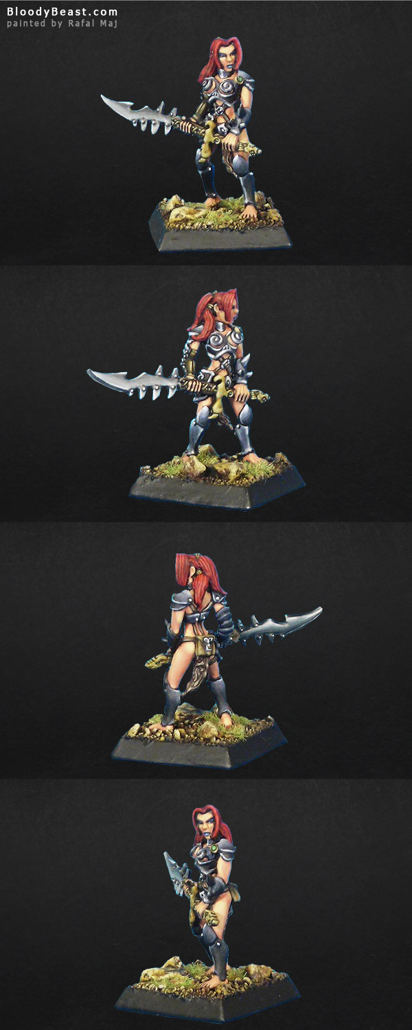 Janna the Wanderer painted by Rafal Maj (BloodyBeast.com)