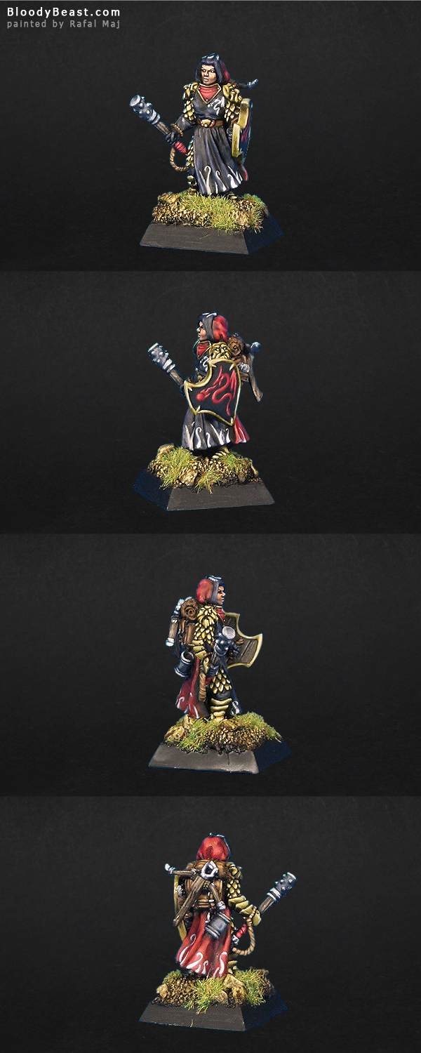 Tolzar, Cleric painted by Rafal Maj (BloodyBeast.com)