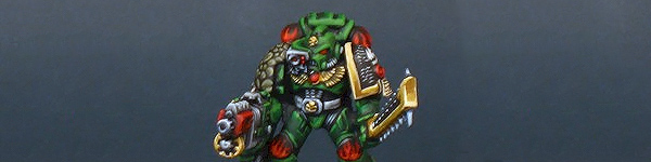 Salamander Space Marine Captain