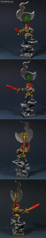 Tzeentch Chaos Lord by Rafal Maj (BloodyBeast.com)