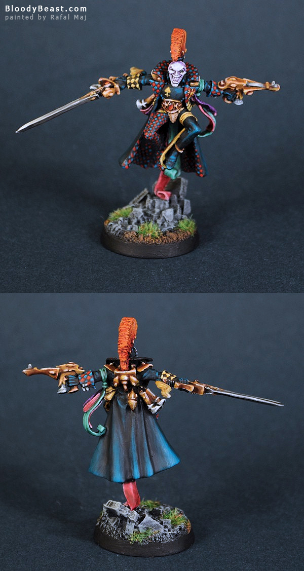 Harlequin Truppe Master painted by Rafal Maj (BloodyBeast.com)
