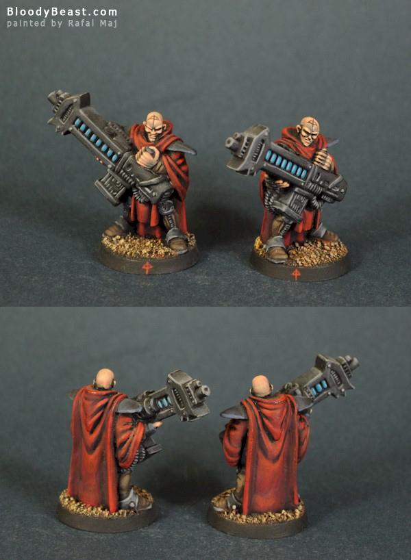 Dark Legion Cults Technomancers painted by Rafal Maj (BloodyBeast.com)