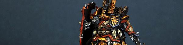 Chaos Khorne Lord on Juggernaut