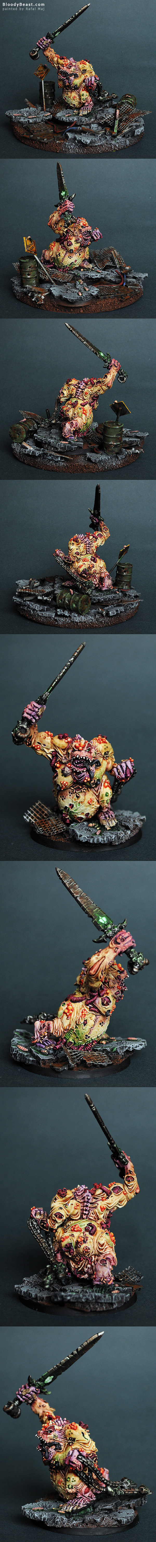 Great Unclean One painted by Rafal Maj (BloodyBeast.com)