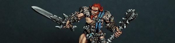 Grundor Hoardtaker, Mercenaries Sergeant (Reaper 14002)