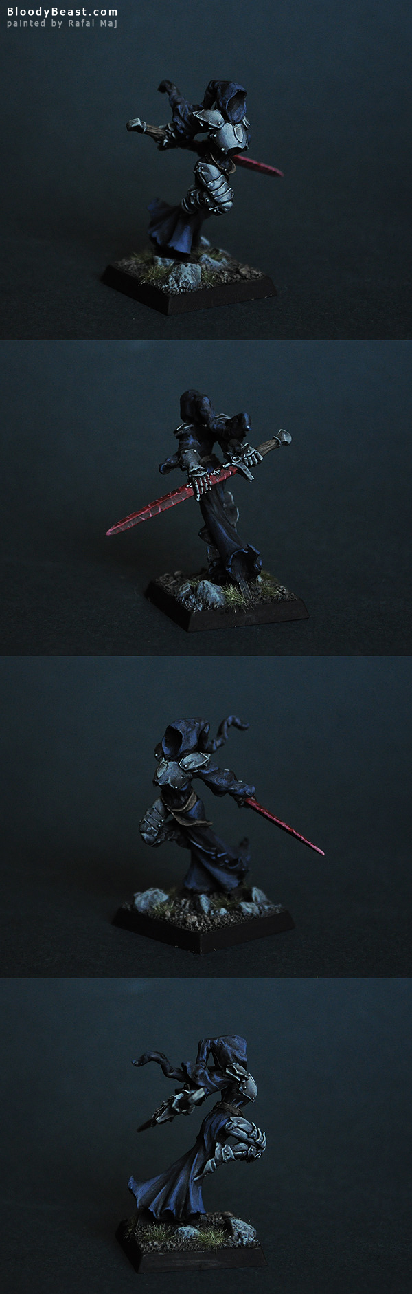 Nivar, Necropolis Hero (Reaper 14033) painted by Rafal Maj (BloodyBeast.com)