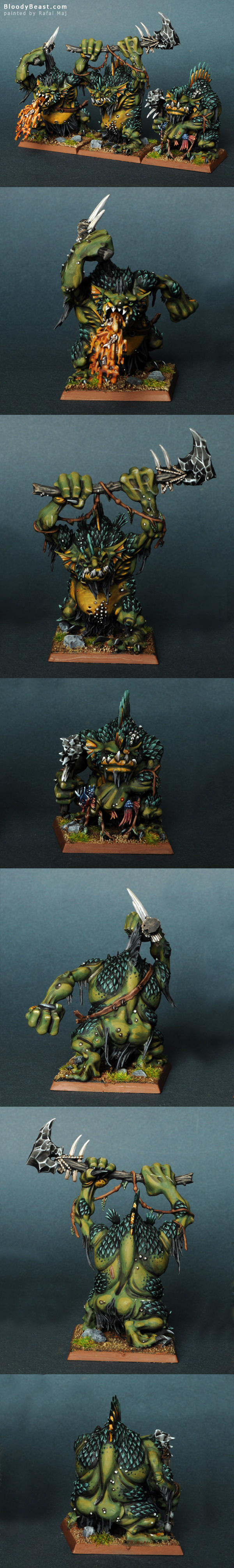 River Trolls painted by Rafal Maj (BloodyBeast.com)