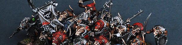 Skaven Clanrats with Hand Weapons