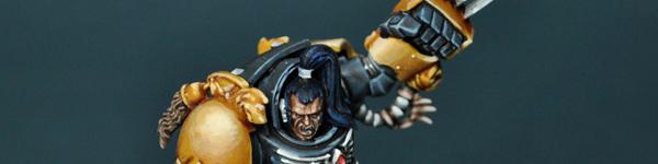 Wolf Guard in Terminator Armor