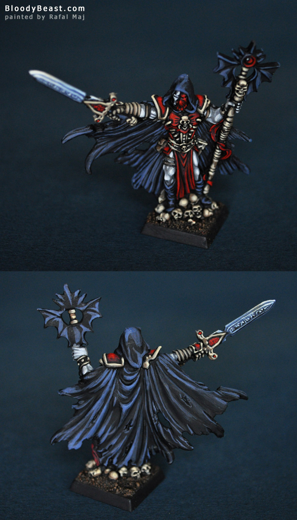 Reaper 14040 Malek, Necropolis Mage painted by Rafal Maj (BloodyBeast.com)