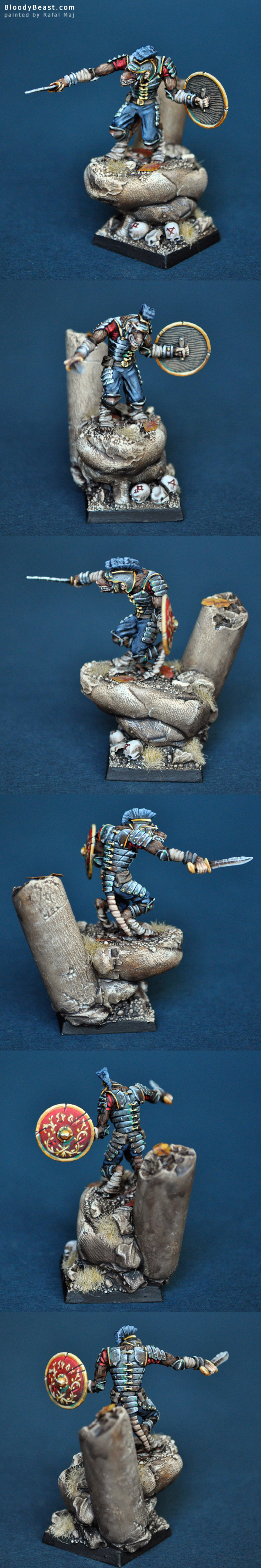 My entry for Black Knight Games Contest #1 painted by Rafal Maj (BloodyBeast.com)