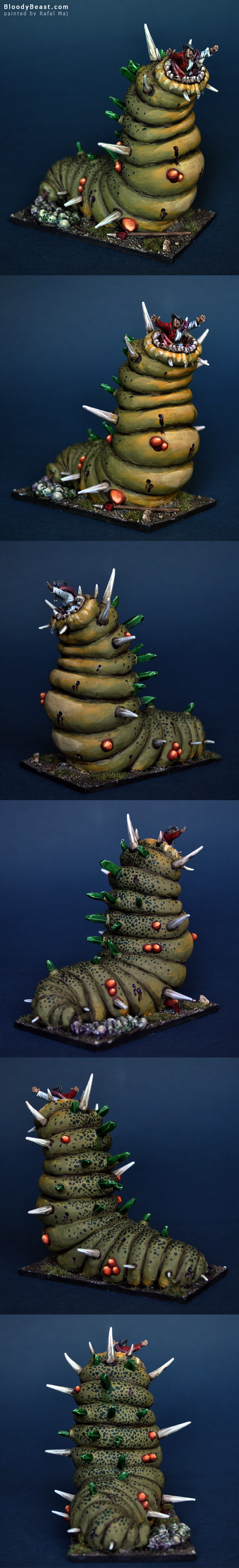 Skaven Hellpit Abomination painted by Rafal Maj (BloodyBeast.com)