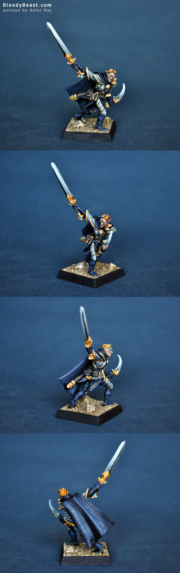 Reaper 14551 Vale Ranger Sergeant painted by Rafal Maj (BloodyBeast.com)