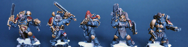 Space Wolves Squad