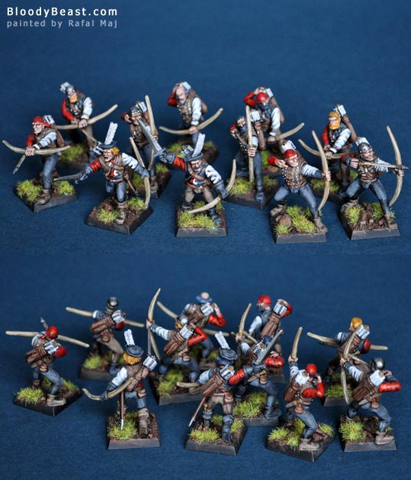 Empire Archers painted by Rafal Maj (BloodyBeast.com)