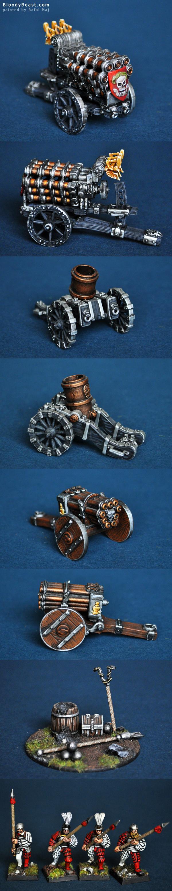 Empire Artillery painted by Rafal Maj (BloodyBeast.com)