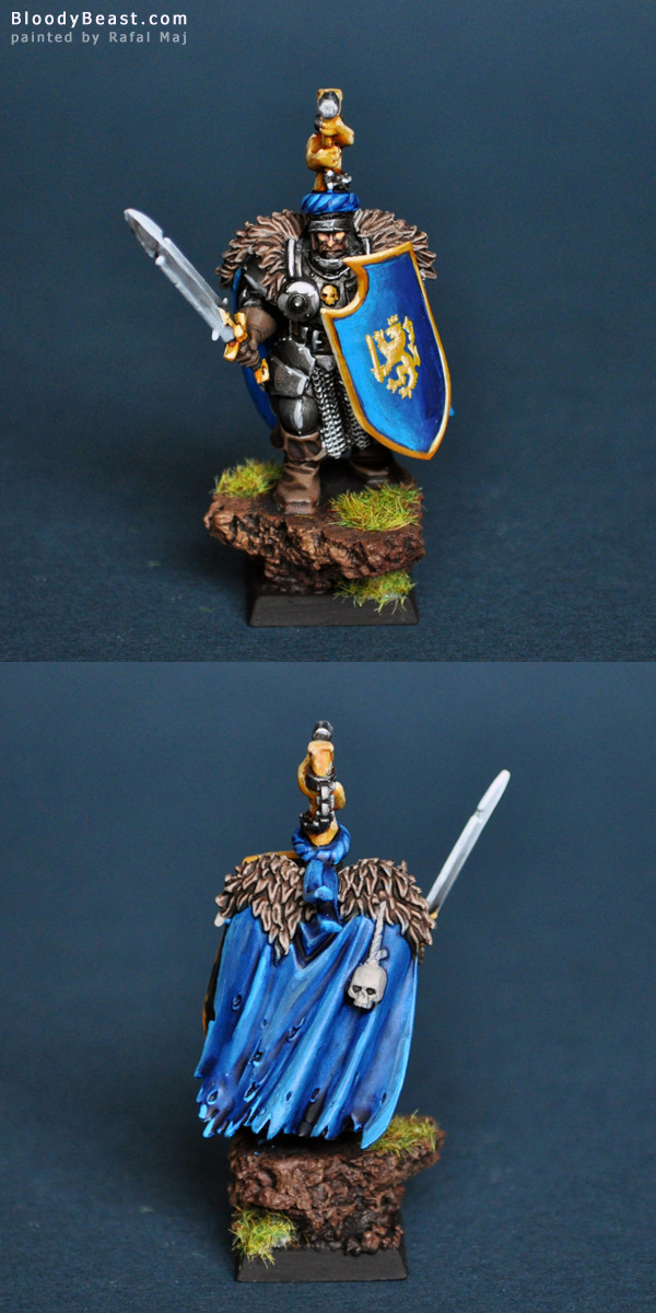 Elector Count on Foot painted by Rafal Maj (BloodyBeast.com)