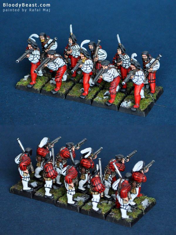 Empire Handgunners painted by Rafal Maj (BloodyBeast.com)