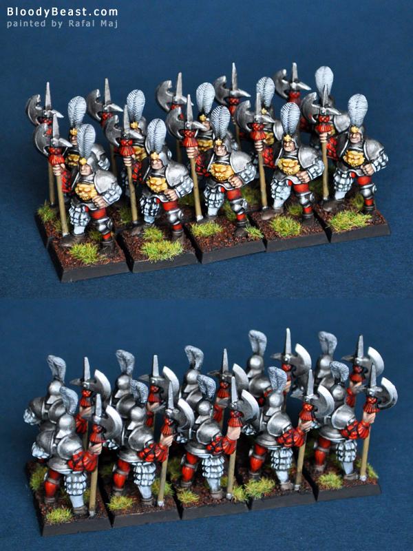 Empire Helbardiers Detachment painted by Rafal Maj (BloodyBeast.com)