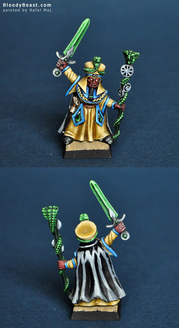 Battle Wizard of Death Lore painted by Rafal Maj (BloodyBeast.com)