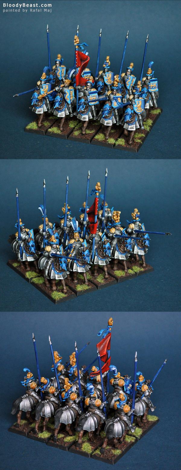 Empire Knight Panters painted by Rafal Maj (BloodyBeast.com)