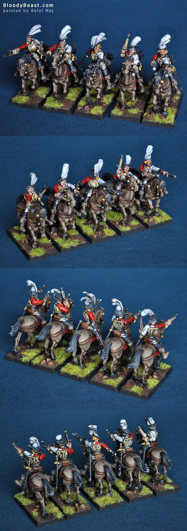 Empire Pistoliers painted by Rafal Maj (BloodyBeast.com)