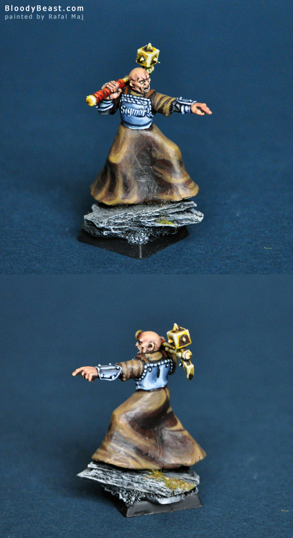 Warrior Priest of Sigmar painted by Rafal Maj (BloodyBeast.com)