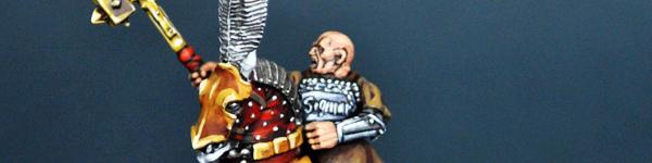 Warrior Priest of Sigmar Mounted