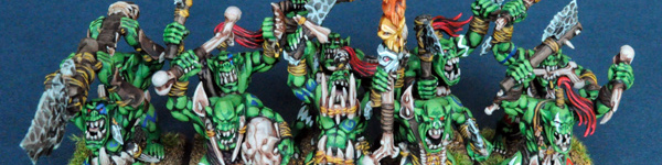 Savage Orc Boyz with Command Group