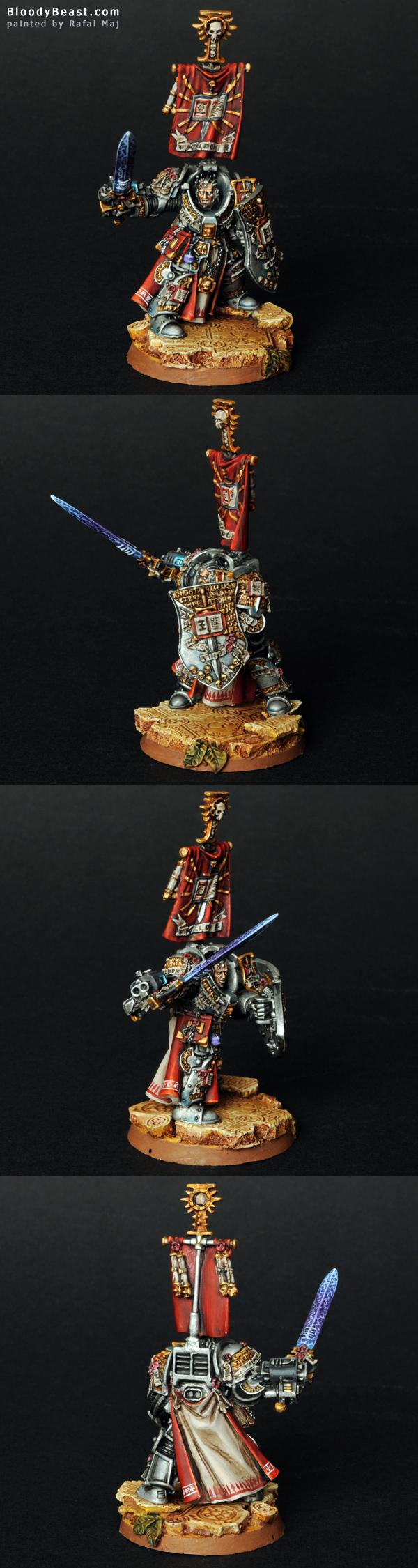 Lord Kaldor Draigo painted by Rafal Maj (BloodyBeast.com)
