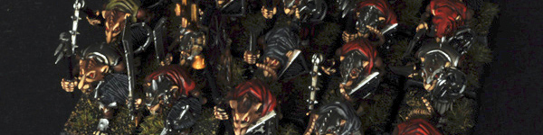 Skaven Clanrats with Hand Weapons and Shields