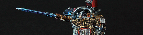 Lord Kaldor Draigo the Supreme Grand Master of the Grey Knights