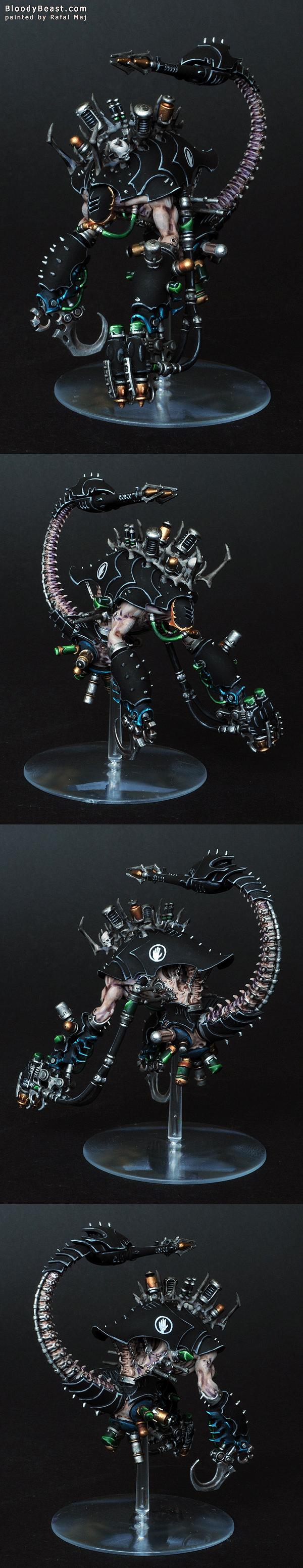 Dark Eldar Cronos Parasite Engine painted by Rafal Maj (BloodyBeast.com)