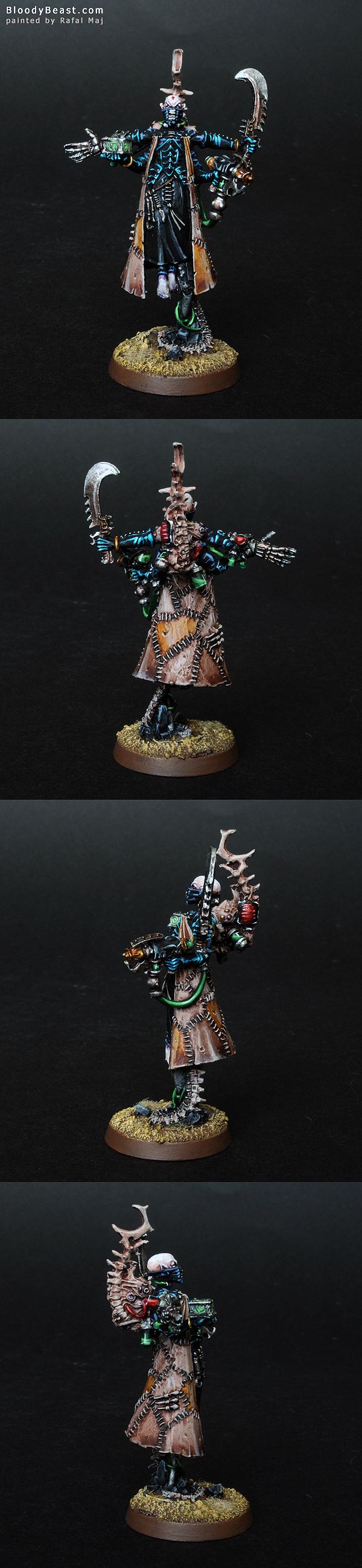 Dark Eldar Haemonculus painted by Rafal Maj (BloodyBeast.com)