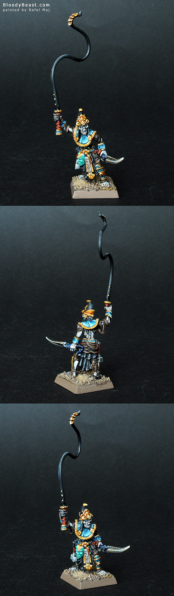 Tomb Kings Necrotect painted by Rafal Maj (BloodyBeast.com)