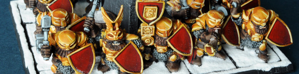 Mantic Dwarf IronGuard Regiment