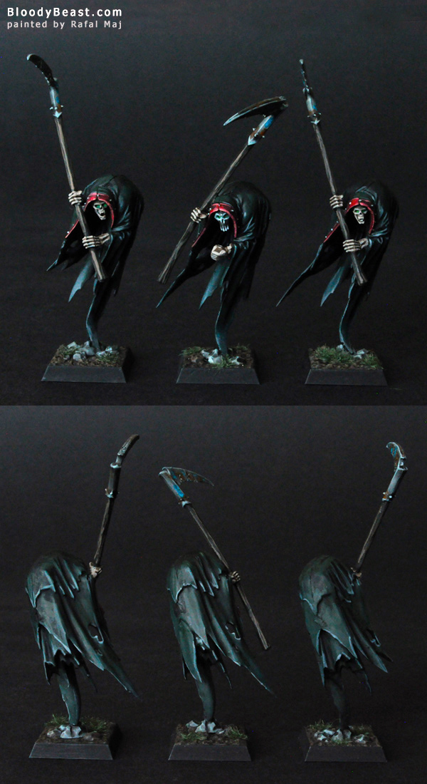 Vampire Counts Cairn Wraiths painted by Rafal Maj (BloodyBeast.com)